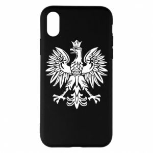 Phone case for iPhone X/Xs Polish eagle