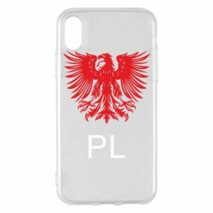 Etui na iPhone X/Xs Polski orzeł