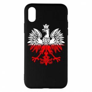 Etui na iPhone X/Xs Polski orzeł - PrintSalon