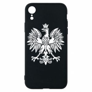 Phone case for iPhone XR Polish eagle