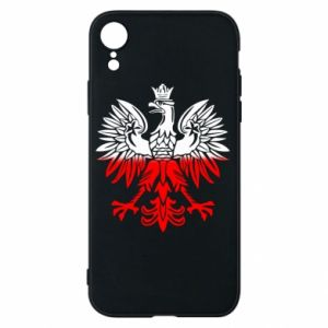 Etui na iPhone XR Polski orzeł - PrintSalon