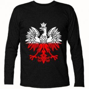 Koszulka z długim rękawem Polski orzeł - PrintSalon