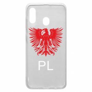Etui na Samsung A20 Polski orzeł
