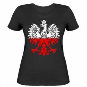 Damska koszulka Polski orzeł
