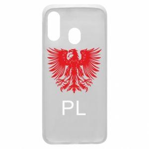 Etui na Samsung A40 Polski orzeł