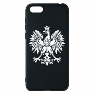 Phone case for Huawei Y5 2018 Polish eagle