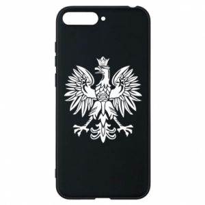 Phone case for Huawei Y6 2018 Polish eagle