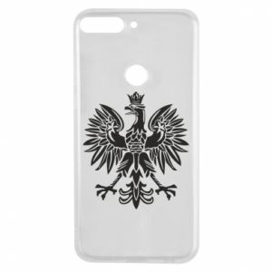 Phone case for Huawei Y7 Prime 2018 Polish eagle