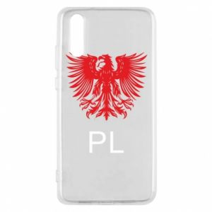 Etui na Huawei P20 Polski orzeł