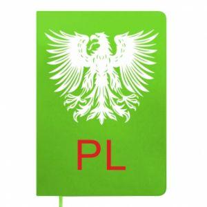 Notepad Polski orzeł