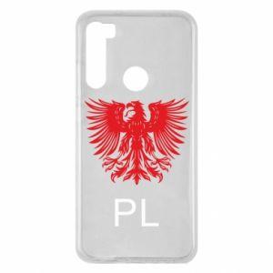 Etui na Xiaomi Redmi Note 8 Polski orzeł