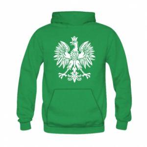 Kid's hoodie Polish eagle