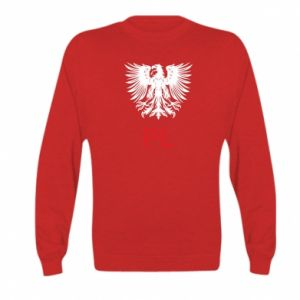 Kid's sweatshirt Polski orzeł
