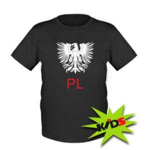 Dziecięcy T-shirt Polski orzeł