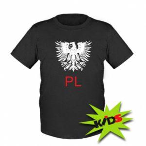 Kids T-shirt Polski orzeł