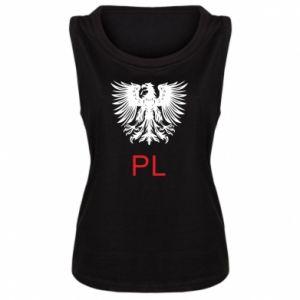 Damska koszulka Polski orzeł - PrintSalon