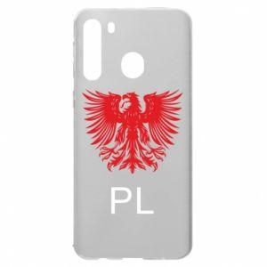 Samsung A21 Case Polski orzeł