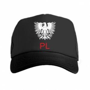 Czapka trucker Polski orzeł
