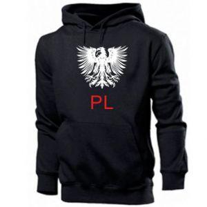 Bluza z kapturem męska Polski orzeł