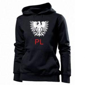Women's hoodies Polski orzeł