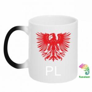 Kubek-magiczny Polski orzeł
