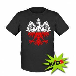 Dziecięcy T-shirt Polski orzeł - PrintSalon