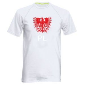 Men's sports t-shirt Polski orzeł