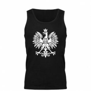 Męska koszulka Polski orzeł - PrintSalon