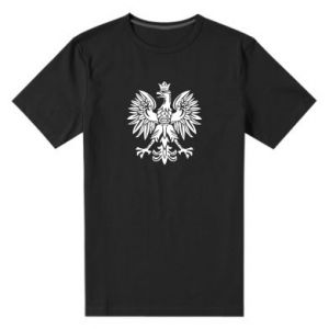 Męska premium koszulka Polski orzeł - PrintSalon