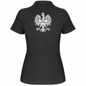 Damska koszulka polo Polski orzeł - PrintSalon