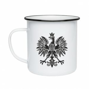 Kubek emaliowane Polski orzeł - PrintSalon