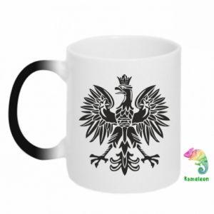 Kubek-kameleon Polski orzeł - PrintSalon