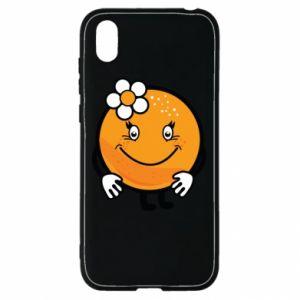 Etui na Huawei Y5 2019 Pomarańcza, dla dziewczynki
