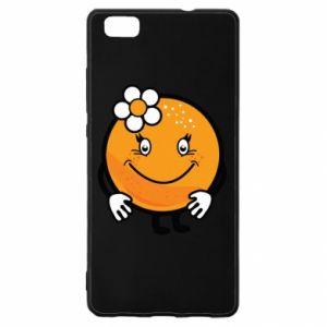 Etui na Huawei P 8 Lite Pomarańcza, dla dziewczynki