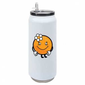 Puszka termiczna Pomarańcza, dla dziewczynki