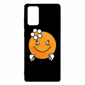 Etui na Samsung Note 20 Pomarańcza, dla dziewczynki