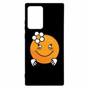 Etui na Samsung Note 20 Ultra Pomarańcza, dla dziewczynki