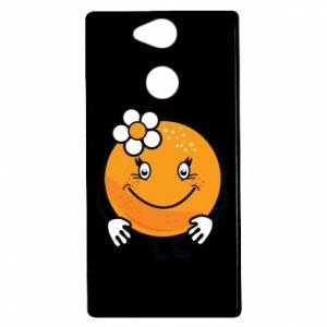 Etui na Sony Xperia XA2 Pomarańcza, dla dziewczynki