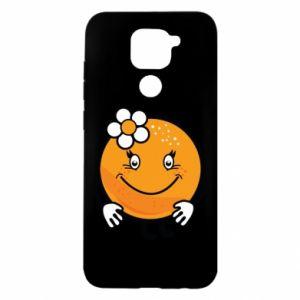 Etui na Xiaomi Redmi Note 9/Redmi 10X Pomarańcza, dla dziewczynki