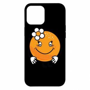 Etui na iPhone 12 Pro Max Pomarańcza, dla dziewczynki