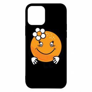 Etui na iPhone 12/12 Pro Pomarańcza, dla dziewczynki