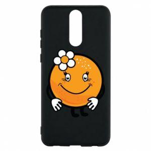 Phone case for Huawei Mate 10 Lite Orange, for girls - PrintSalon