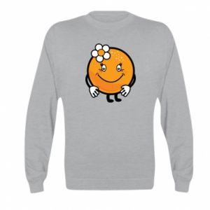 Bluza dziecięca Pomarańcza, dla dziewczynki