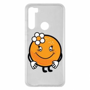 Etui na Xiaomi Redmi Note 8 Pomarańcza, dla dziewczynki