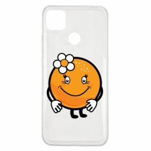 Etui na Xiaomi Redmi 9c Pomarańcza, dla dziewczynki