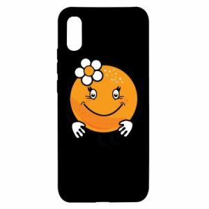 Etui na Xiaomi Redmi 9a Pomarańcza, dla dziewczynki