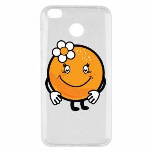 Etui na Xiaomi Redmi 4X Pomarańcza, dla dziewczynki