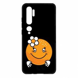 Etui na Xiaomi Mi Note 10 Pomarańcza, dla dziewczynki