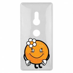 Etui na Sony Xperia XZ2 Pomarańcza, dla dziewczynki