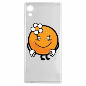 Etui na Sony Xperia XA1 Pomarańcza, dla dziewczynki